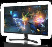 Cerebro Game Computer Monitor Afbeelding