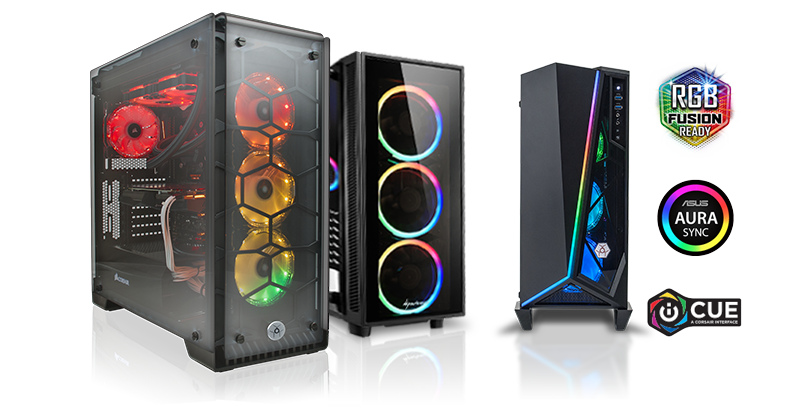 RGB Game Computer Configuraties