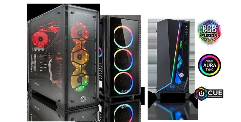 RGB Game Computer Configuraties