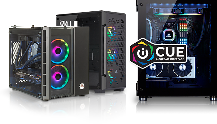 Corsair iCUE Certified Game Computers