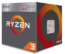 AMD Ryzen 3 3200G (4x 3600MHz - Turbo 4000MHz)