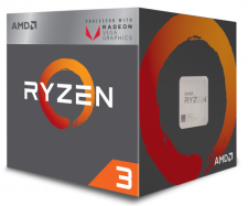 AMD Ryzen 3 2200G (4x 3500MHz - Turbo 3700MHz)