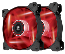 Corsair AF120 Quiet Edition (2x Rode LED Fans)