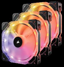 Corsair HD120 RGB (3x RGB LED Fans)
