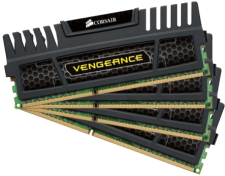 32GB DDR3 1600Mhz (Corsair Vengeance - Dual Channel)