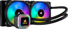 Corsair Hydro H100i <strong style=color:red>R</strong><strong style=color:green>G</strong><strong style=color:blue>B</strong> Platinum (Waterkoeling)