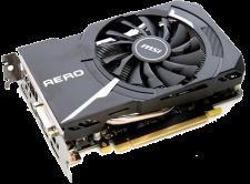 NVIDIA GTX 1060 (MSI GTX 1060 AERO 3G OC)