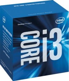 Intel Core i3 7100 Kaby Lake (2x 3900 MHz) Dual Core