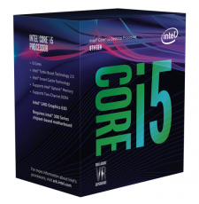 Intel Core i5-8600K Coffee Lake (6x 3600MHz - Turbo 4300MHz) Hexa Core