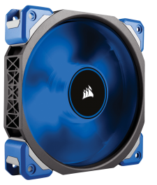 Corsair ML120 Premium Magnetic Levitation fan (2x Blauwe LED Fans)