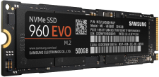 500GB M.2 Solid State Drive (Samsung 960 EVO 500GB)