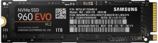 1000GB M.2 Solid State Drive (Samsung 960 EVO) (1 dag extra levertijd)