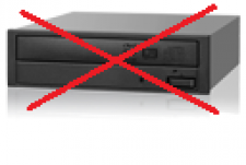 Geen DVD / Optical Drive