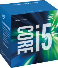 Intel Core i5 7400 Kaby Lake (4x 3000MHz - Turbo 3500MHz) Quad Core