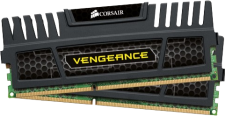 16GB DDR3 1600Mhz (Corsair Vengeance - Dual Channel)